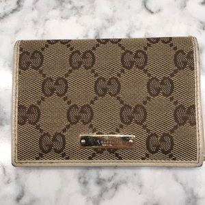 Gucci Canvas Monogram ID Wallet